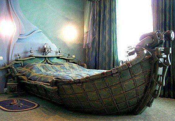 Dormire in una barca
