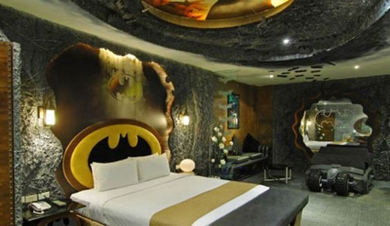 Dormire come Batman