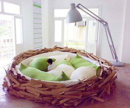 Dormire nel nido