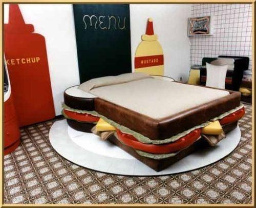 Dormire dentro un sandwich