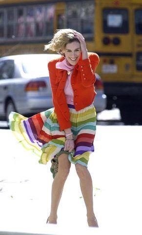 Non abbiate paura di indossare ogni colore dell'arcobaleno