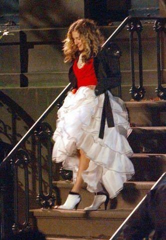 Potete indossare gonne da flamenco per andare a cena