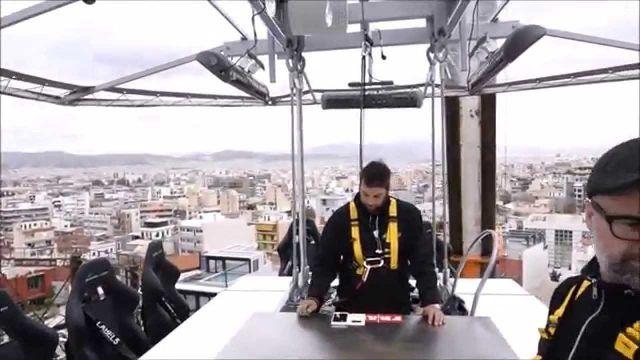 Dinner in the Sky ad Atene