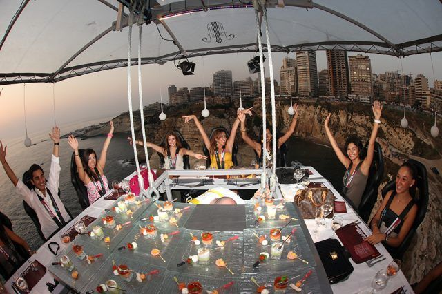 Dinner in the Sky a Beirut