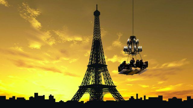 Dinner in the Sky a Parigi