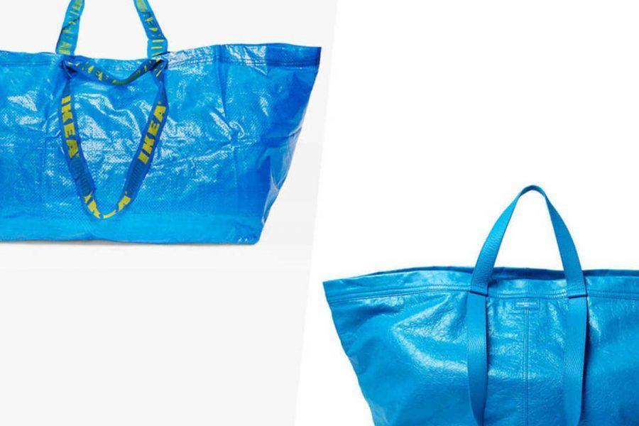 La risposta di Ikea alla borsa copiata da Balenciaga