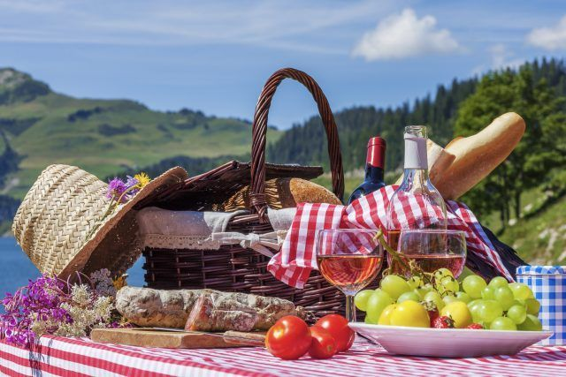 Pic nic in montagna