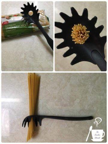 Il servispaghetti è anche un dosatore