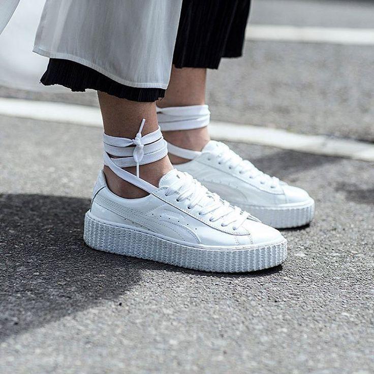 Bianche Come Le Bigodino Indossare Sneakers H8RqBwv1