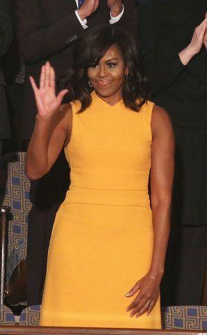 Abito Narciso Rodriguez di Michelle Obama