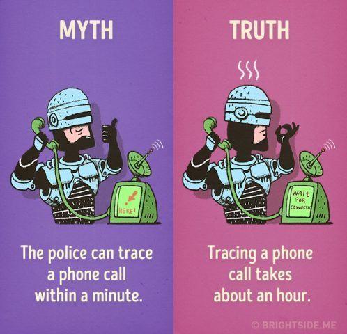 La polizia ci impiega ore a rintracciare da dove proviene una telefonata