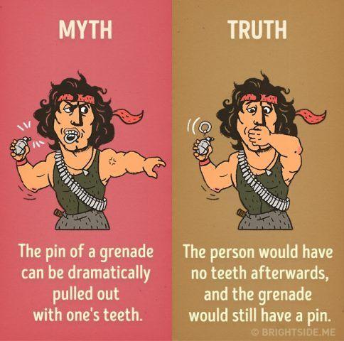 Se provate ad aprire una granata con la bocca, probabilmente perderete più di un dente