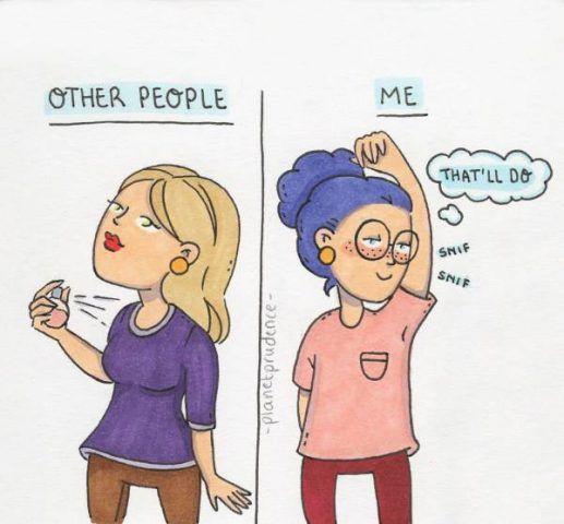 Le altre  e io!