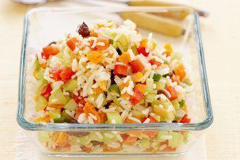10 segreti per preparare l'insalata di riso estiva