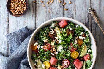 La ricetta semplice e veloce della perfetta insalata estiva