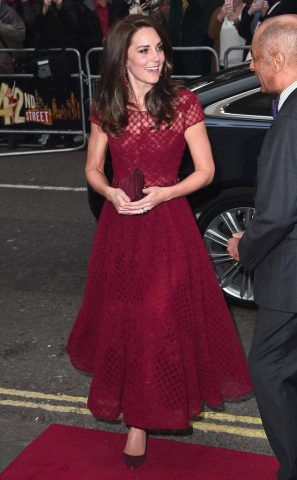 Kate Middleton in Marchesa