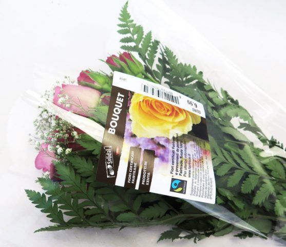 Rose certificate Fairtrade