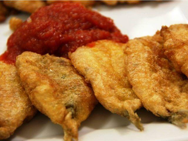 Sarde impanate