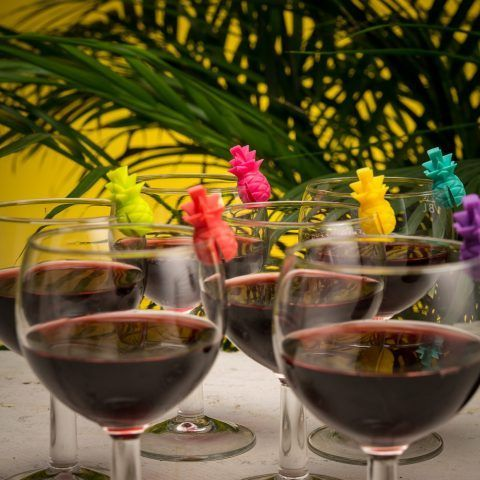 Ananas per bicchierini