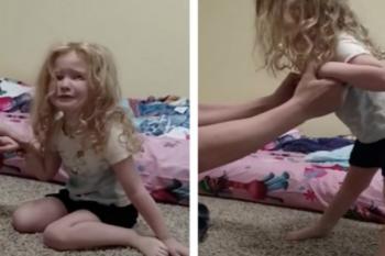 La bambina è fuori di sé, il medico, frugando tra i capelli, scopre la ragione
