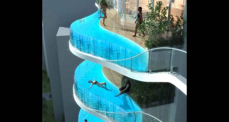 La piscina fai da te sul balcone il nuovo tormentone dell 39 estate bigodino - Piscina fai da te ...