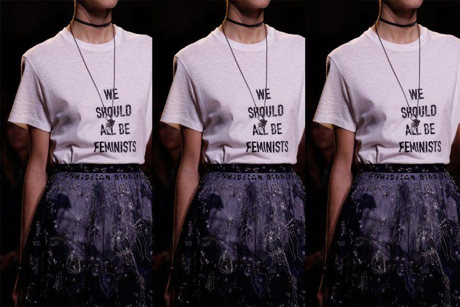 La moda sposa la causa femminista