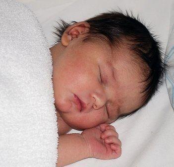Colore dei capelli nei neonati