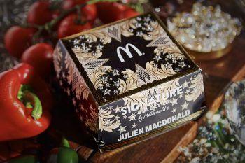 Il prezioso Big Mac di McDonald's disegnato da Julien Macdonald