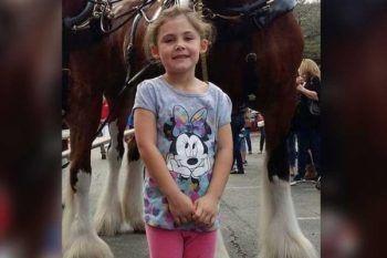 Papà fa una foto alla figlia: guardate cosa fa il cavallo dietro!