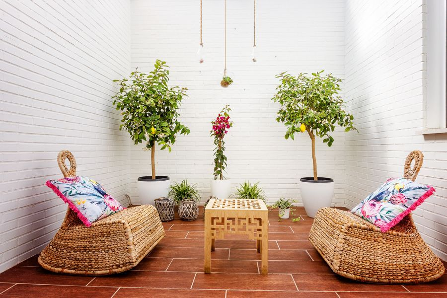 Idee geniali per decorare il terrazzo bigodino
