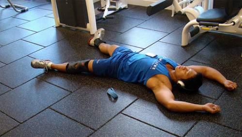 esercizio fisico con il ciclo