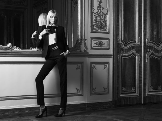 "Yves Saint Laurent ""Le Smoking Tuxedo"""