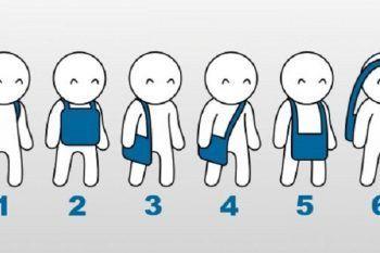 Il modo in cui porti la borsa dice molto di te