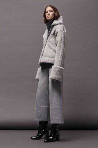 Cappotto di montone Victoria Beckham
