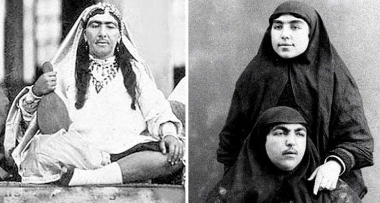 Le donne dello Scià dell'Iran non erano proprio ce le immaginavamo noi