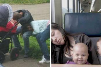 10 immagini di genitori distrutti
