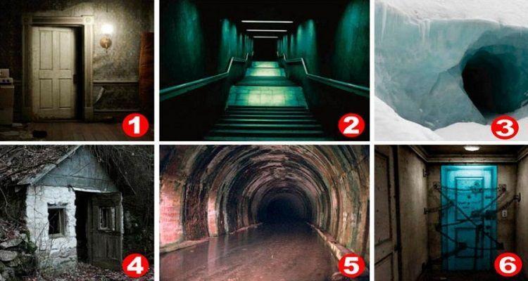 Test di psicologia: in quale foto hai più paura a entrare?