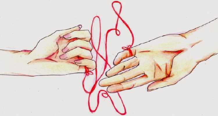 Amore, la romantica leggenda del filo rosso