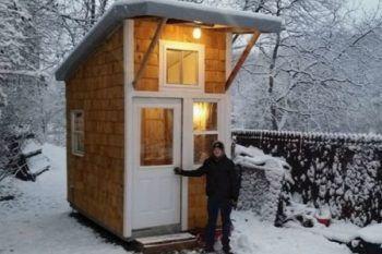A 13 anni ha costruito da solo la sua casa