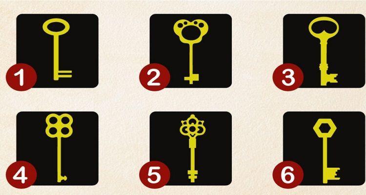 Il test della chiave svela la tua personalità nascosta