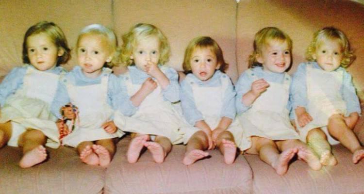 E' stato l'unico parto di sei gemmelle, guardate dopo 30 anni come sono diventate!!