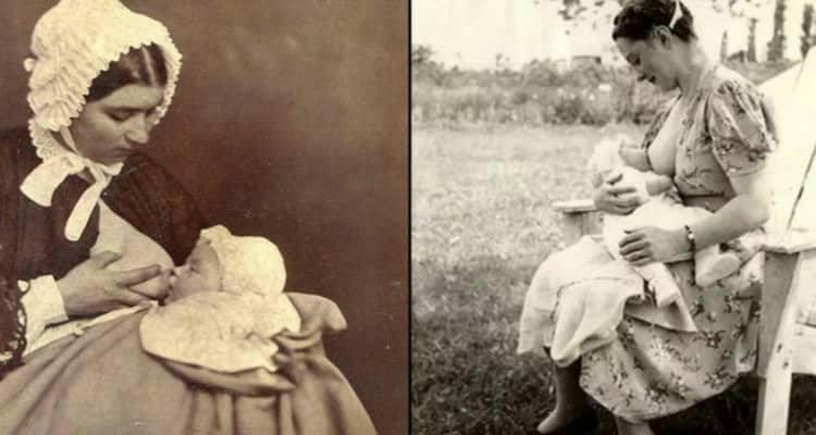 L'allattamento nell'epoca vittoriana e la perdita del suo valore