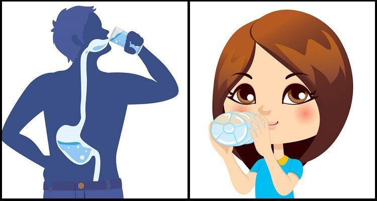 Perché dovreste bere acqua a stomaco vuoto tutte le mattine?