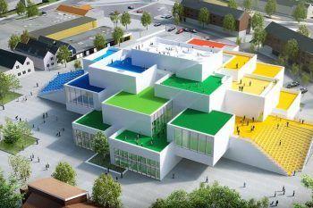 In Danimarca esiste una casa completamente fatta di Lego