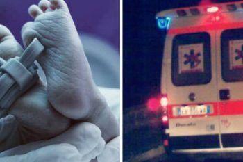 Bambino di otto mesi ricoverato d'urgenza, la mamma non gli da da mangiare