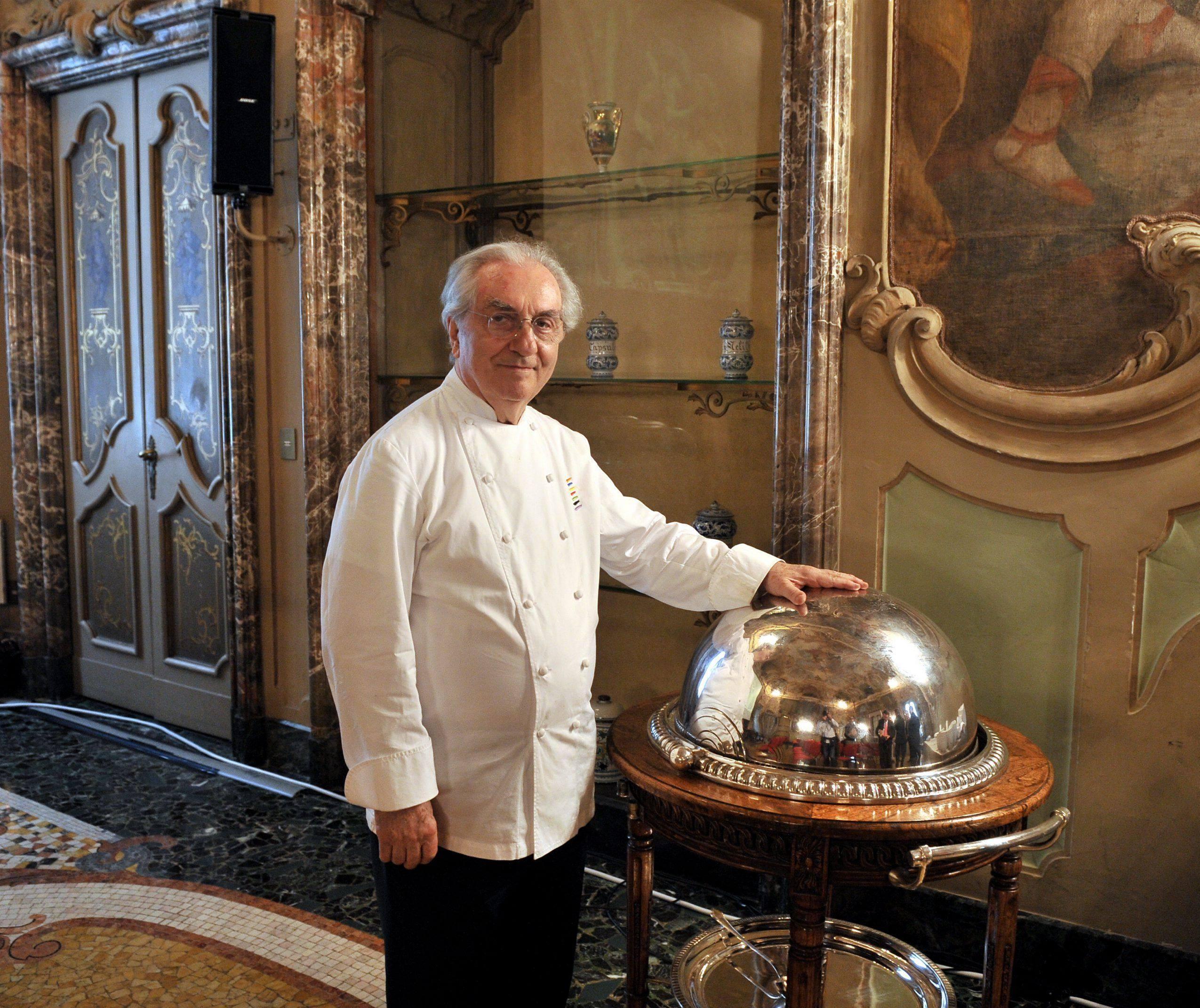 Gualtiero Marchesi è morto: addio al maestro degli chef