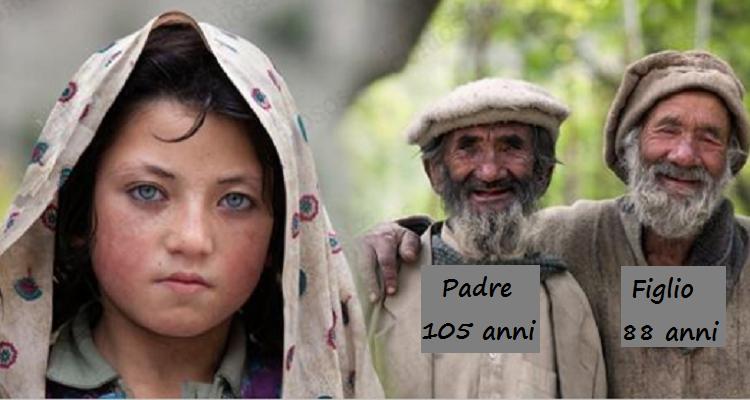 Hunza: una popolazione che vive 120-130 anni e non conosce malattie degenerative.