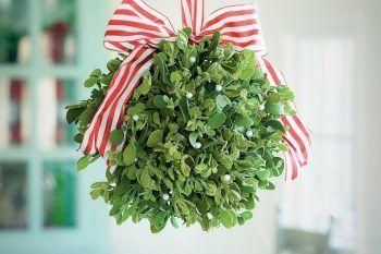 Capodanno, come fare le decorazioni con il vischio