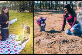 Fotografa la sua bambina morta, ma poi scopre una straziante verità
