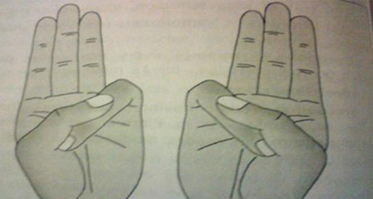 Tenete la mano in queste posizioni per ottenere effetti incredibili sul corpo